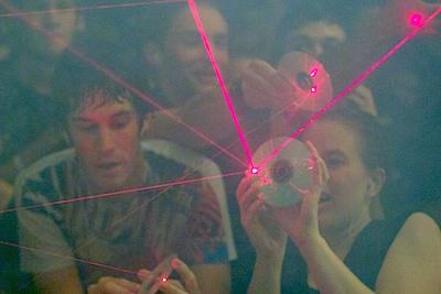 Heist - lasers 1
